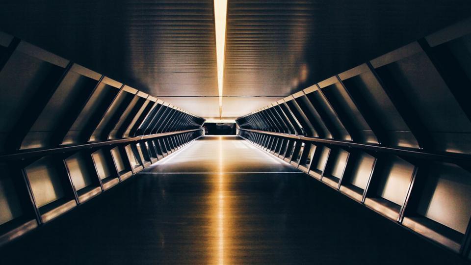 Futuristinen käytävä