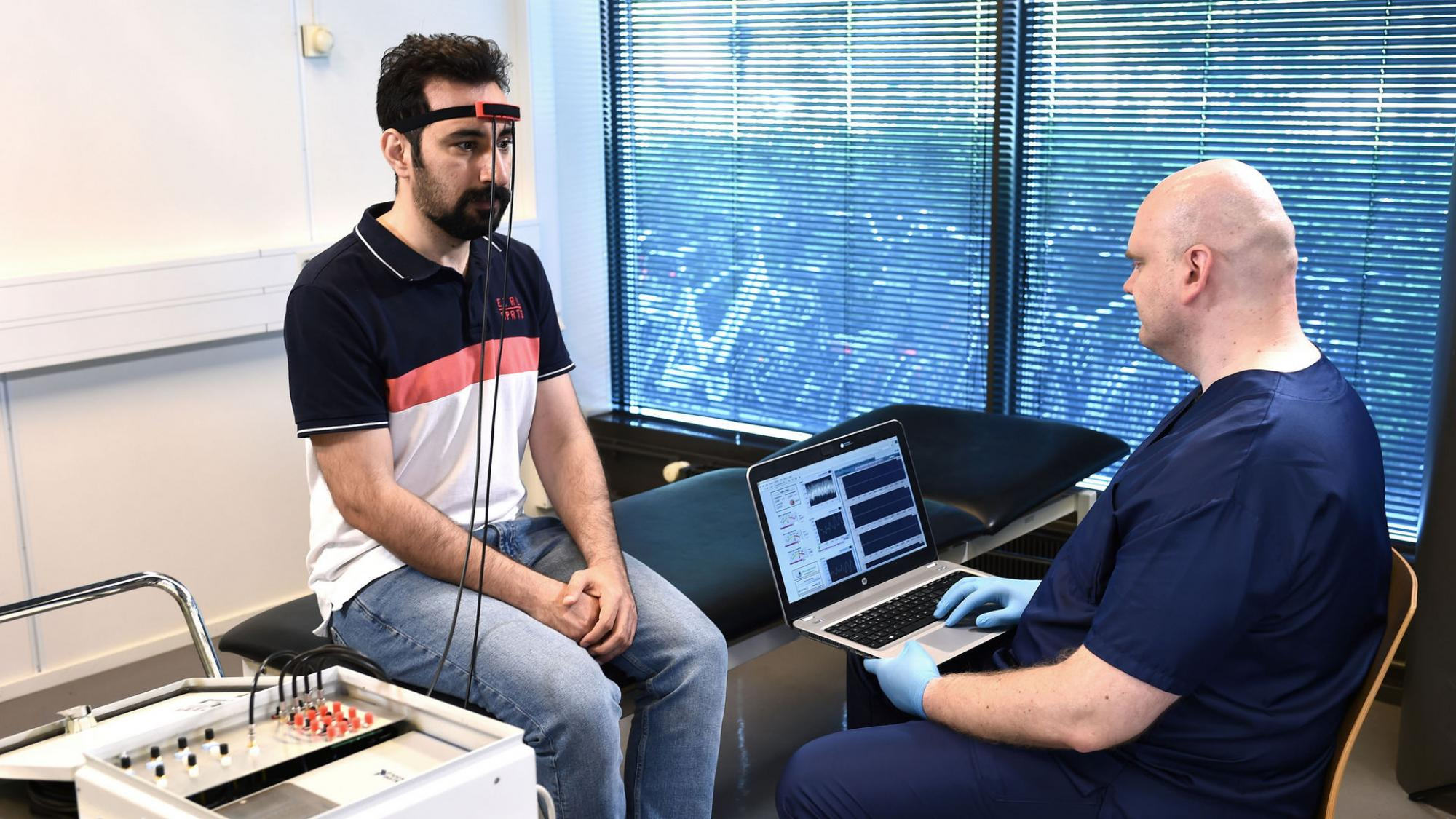 Toiminnallinen lähi-infrapuna spektroskopia (NIRS) on optinen mittaustekniikka, jolla mitataan aivokuoren aivoverenkiertoa.