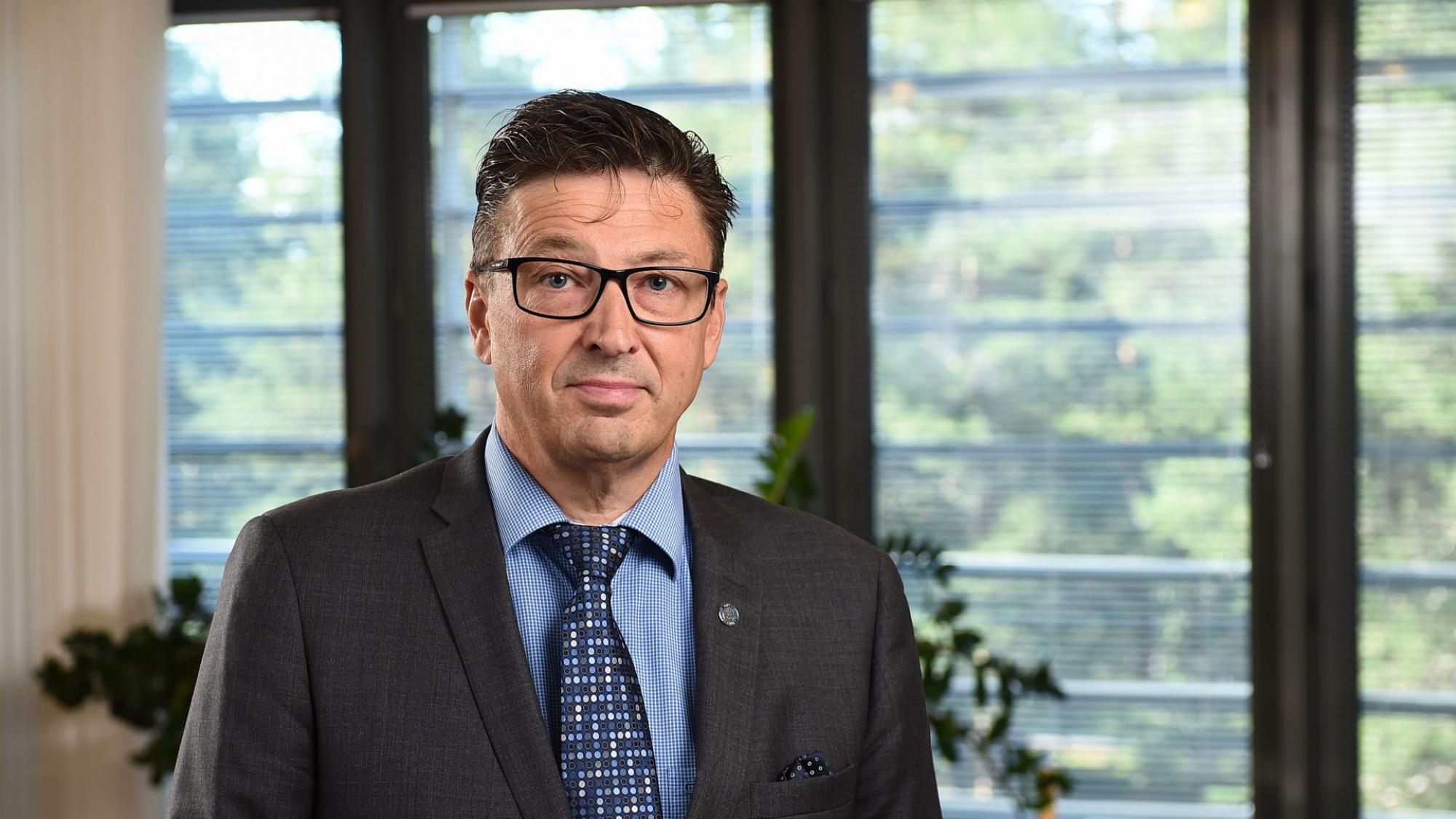 Jouko Niinimäki, rector, University of Oulu