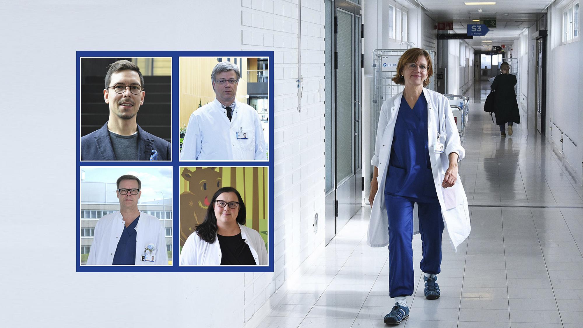 Uudet kliinisen alan professorit
